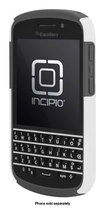 Incipio - DualPro Case for BlackBerry Q10 Cell Phones - White/Gray