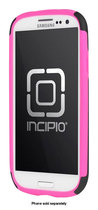 Incipio - DualPro Case for Samsung Galaxy S III Cell Phones - Neon Pink/Black