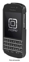 Incipio - feather SHINE Shell Case for BlackBerry Q10 Cell Phones - Black