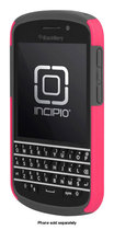 Incipio - DualPro Case for BlackBerry Q10 Cell Phones - Cherry Blossom Pink/Charcoal Gray