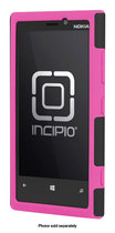 Incipio - DualPro Case for Nokia Lumia 920 Cell Phones - Black/Neon Pink