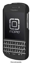 Incipio - feather Snap-On Case for BlackBerry Q10 Cell Phones - Obsidian Black