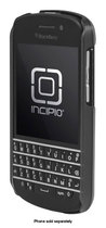 Incipio - feather SHINE Shell Case for BlackBerry Q10 Cell Phones - Silver