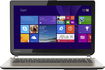 """Toshiba - Geek Squad Certified Refurbished 14"""" Touch-Screen Laptop - Intel Core i5 - 6GB Memory - 750GB HDD - Satin Gold"""