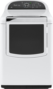 Whirlpool - Cabrio Platinum 7.6 Cu. Ft. 11-Cycle Steam Electric Dryer - White