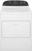 Whirlpool - Closeout 7.0 Cu. Ft. 12-Cycle Gas Dryer - White