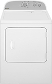 Whirlpool - 7.0 Cu. Ft. 15-Cycle Electric Dryer - White