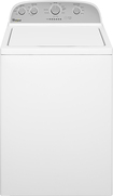 Whirlpool - 3.6 Cu. Ft. 9-Cycle Top-Loading Washer - White
