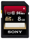 Sony - 8GB Secure Digital High Capacity (SDHC) Memory Card