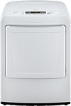 LG - 7.3 Cu. Ft. 9-Cycle Ultralarge-Capacity Gas Dryer - White