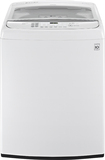 LG - 4.9 Cu. Ft. 12-Cycle Mega-Capacity High-Efficiency Top-Loading Washer - White