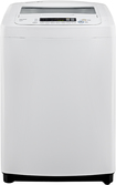 LG - 3.6 Cu. Ft. 8-Cycle Extra-Large-Capacity High-Efficiency Top-Loading Washer - White