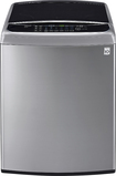 LG - 4.9 Cu. Ft. 12-Cycle Mega-Capacity High-Efficiency Top-Loading Washer - Graphite Steel