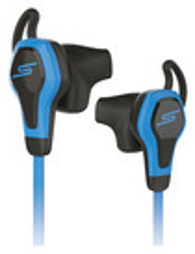 SMS Audio - BioSport Street by 50 Cent Earbud Headphones - Blue