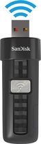 SanDisk - Connect 32GB USB 2.0 Wireless Flash Drive - Black