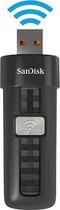 SanDisk - Connect 32GB USB 2.0 Wireless Flash Drive - Black