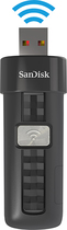 SanDisk - Connect 16GB USB 2.0 Wireless Flash Drive - Black