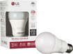 LG - 800-Lumen, 9.5W Dimmable A19 Wireless LED Light Bulb, 60W Equivalent - Warm White