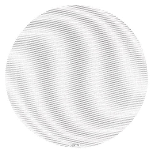 Jamo - Architectural Series 8 2-Way Indoor/Outdoor In-Ceiling Speaker (Each) - White
