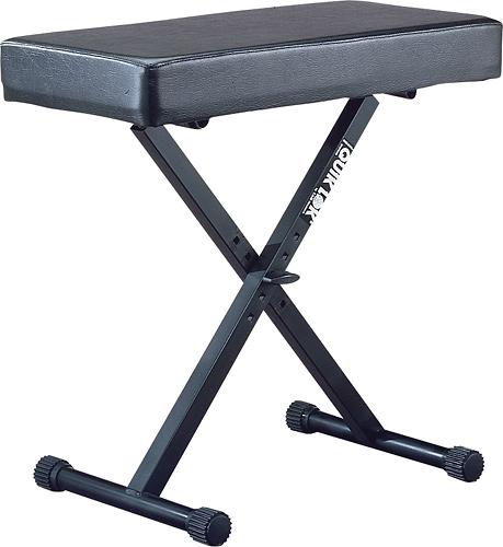Quik Lok - Large Keyboard Bench - Black