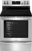 "Frigidaire - Gallery 30"" Self-Cleaning Freestanding Electric Convection Induction Range - Stainless-Steel"