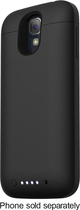 mophie - Juice Pack Charging Case for Samsung Galaxy S 4 Cell Phones (AT&T, Sprint, Verizon Wireless) - Black