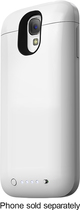 mophie - juice pack Charging Case for Samsung Galaxy S 4 Cell Phones - White