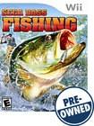 Sega Bass Fishing — PRE-OWNED - Nintendo Wii