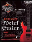 House of Blues Presents Learn to Play Metal Guitar - Beginner (DVD)
