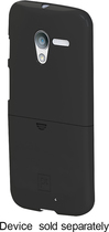 Platinum Series - Case with Holster for Motorola Moto X Cell Phones - Black