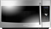 Samsung - 1.7 Cu. Ft. SLIM FRY Over-the-Range Convection Microwave - Stainless-Steel