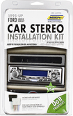 Metra - ISO DIN Installation Kit for Most 1995 and Later Ford Vehicles - Black