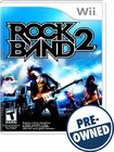 Click here for Rock Band 2 - Pre-owned - Nintendo Wii prices