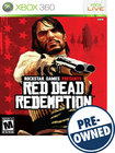 Red Dead Redemption — PRE-OWNED - Xbox 360