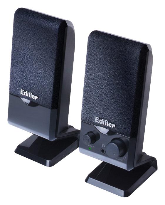 Edifier - M1250 2.0 Computer Speakers (2-Piece) - Black