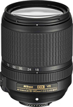 Nikon - AF-S DX NIKKOR 18-140mm f/3.5-5.6G ED VR Zoom Lens for Select Nikon DX-Format Digital Cameras - Black