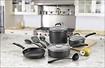 Cuisinart - Pro Classic 11-Piece Cookware Set - Black