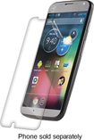 ZAGG - InvisibleShield HD Screen Protector for Case Friendly Motorola Moto X Mobile Phones