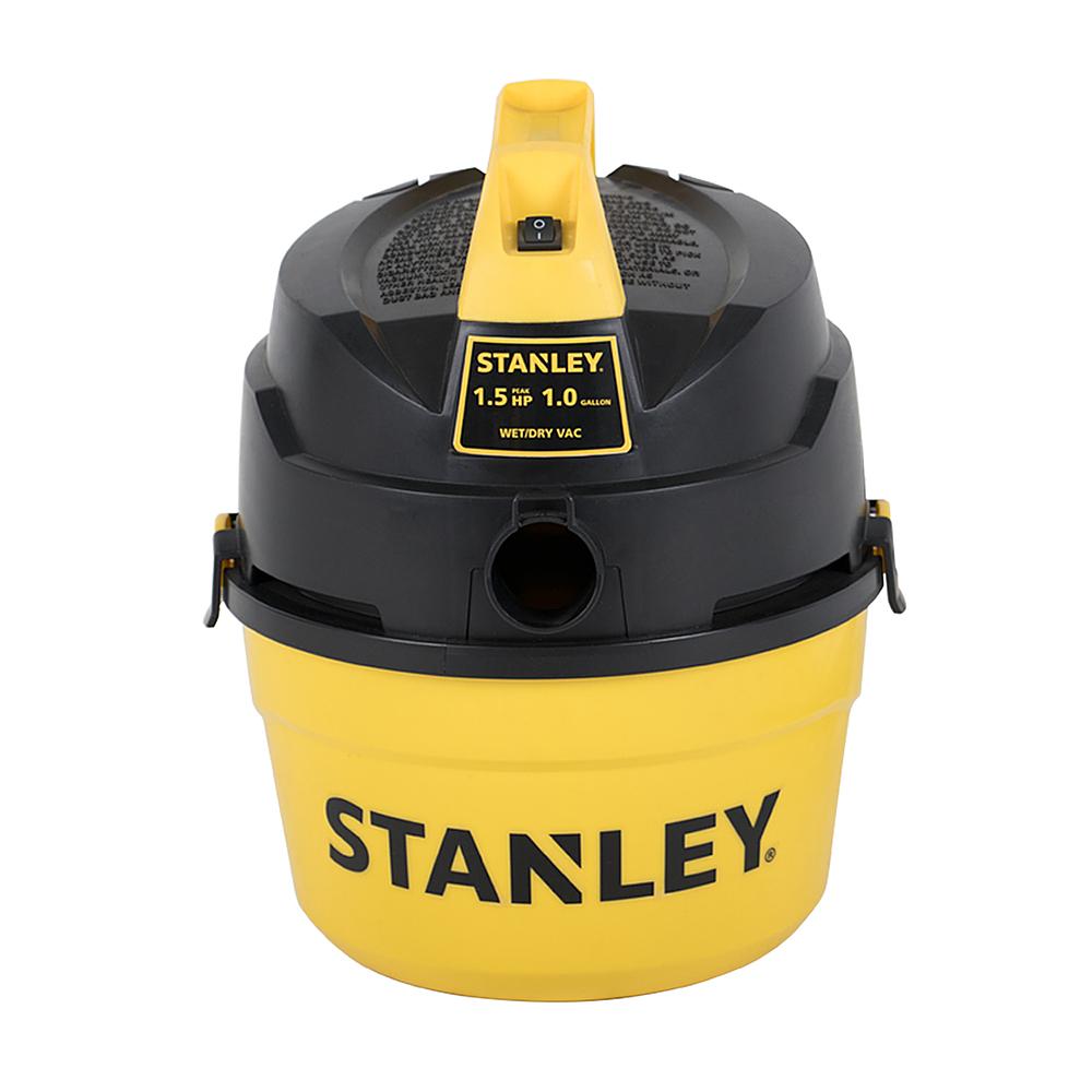 Stanley - 1-Gal. Wet/Dry Vacuum - Black