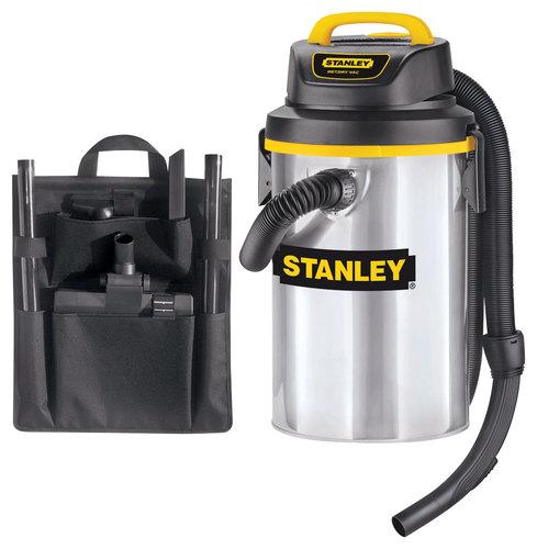 Stanley - 3.5-Gal. Wet/Dry Vacuum - Black