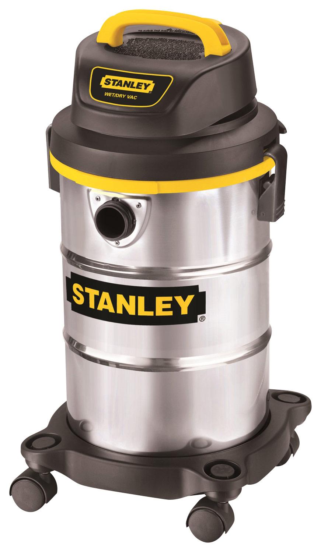 Stanley - 5-Gal. Wet/Dry Vacuum - Stainless-Steel