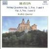 String Quartets Op 2 - CD