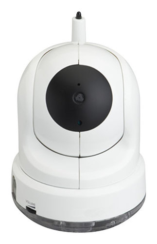Lorex - Add-On Wireless Pan-Tilt Camera for Lorex Baby CARE 'N' SHARE Baby Monitors - White