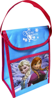 Disney - Frozen Snow Queen Vertical Lunch Bag - Blue