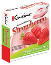Euro Cuisine - Natural Flavor Strawberry Yogurt Mix Packets (3-Pack)