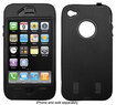Hype - Heavy-Duty Case for Apple® iPhone® 4 - Black