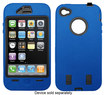 Hype - Heavy-Duty Case for Apple® iPhone® 4 - Blue