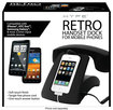 HYPE - Rotary-Style Retro Handset for Select Mobile Phones and Tablets - Black