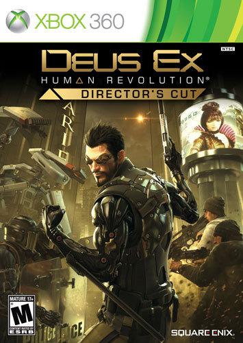Deus Ex: Human Revolution Director's Cut - Xbox 360