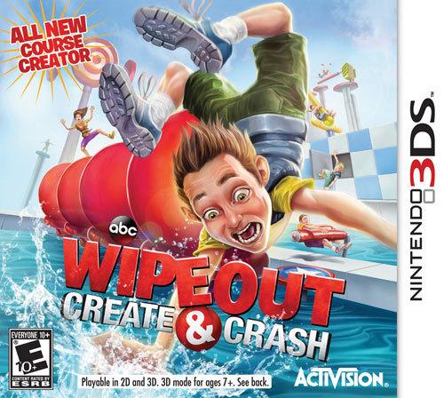 Wipeout: Create & Crash - Nintendo 3DS